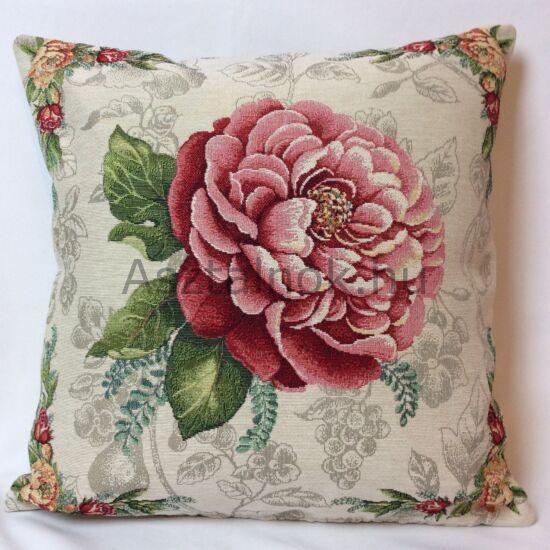 Piros rózsa párnahuzat