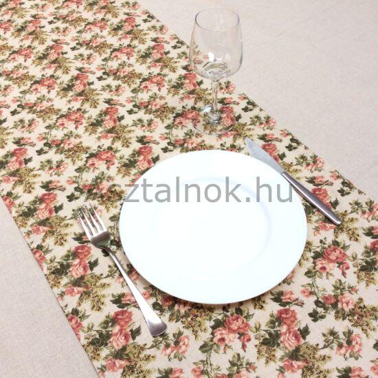 Rózsakert asztali futó