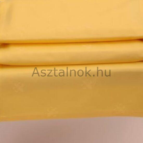 Sárga liliom damaszt asztalközép