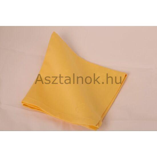 Sárga liliom damaszt szalvéta
