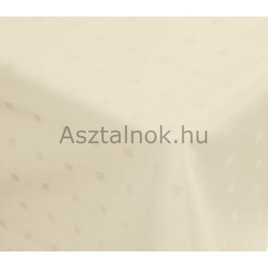 Vanília damaszt asztalterítő