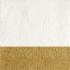 Elegance fehér arany ünnepi szalvéta