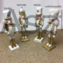 Kép 1/5 - Diótörő karácsonyi figura arany