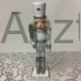 Kép 3/4 - Diótörő karácsonyi figura ezüst