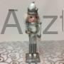 Kép 2/4 - Diótörő karácsonyi figura ezüst