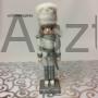 Kép 4/4 - Diótörő karácsonyi figura ezüst