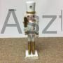 Kép 2/5 - Diótörő karácsonyi figura arany