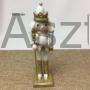 Kép 3/5 - Diótörő karácsonyi figura arany