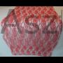 Kép 1/3 - Csipke asztali futó piros