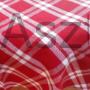 Kép 1/2 - Piros fehér kockás abrosz
