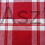 Kép 2/2 - Piros fehér kockás abrosz
