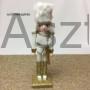 Kép 5/5 - Diótörő karácsonyi figura arany